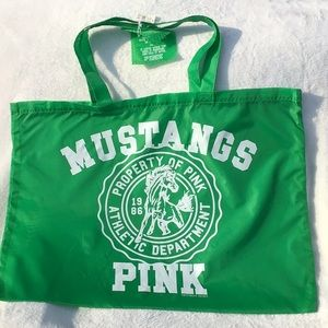 "PINK Victoria""s Secret Green Tote Bag"
